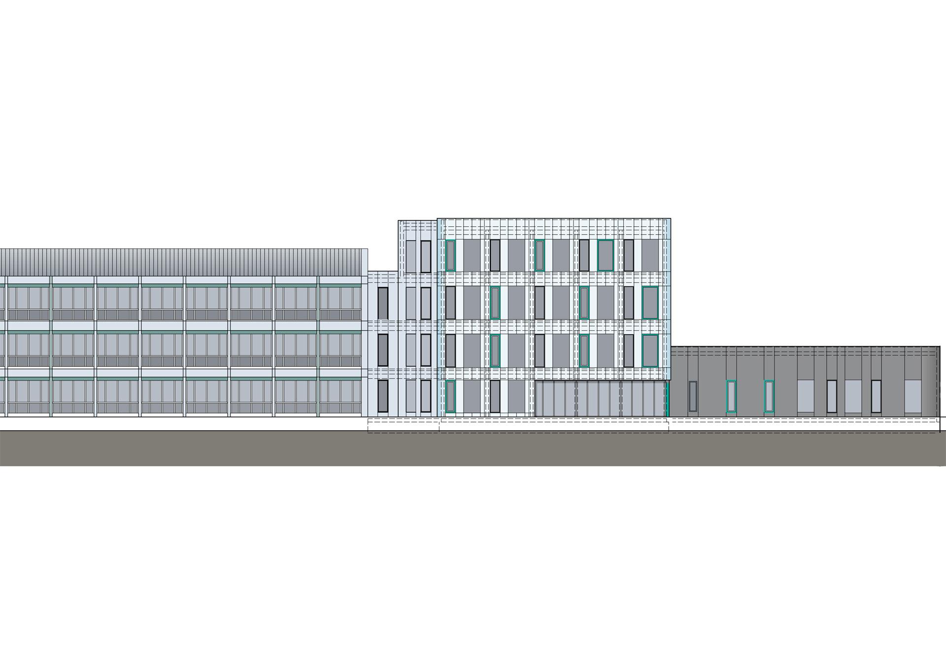 Büroanbau und Hallenerweiterung Dekra Chemnitz – Erstellung des Bauantrages