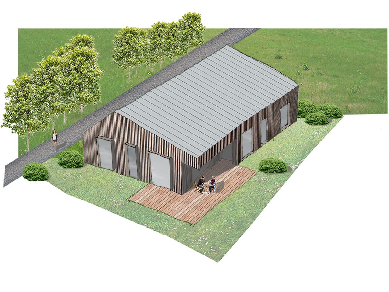 EFH Chemnitz – Entwurf eines Einfamilienhauses in Holzbauweise